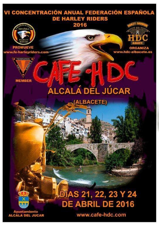 CAFE HDC 2016. Albacete, Alcalá del Júcar
