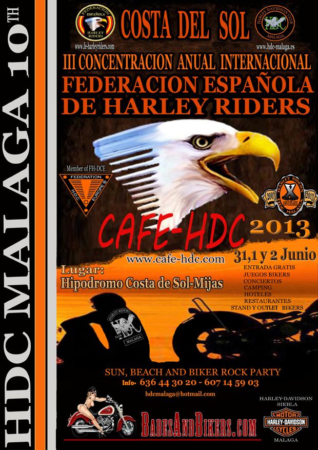 III CAFE HDC Malaga 2013