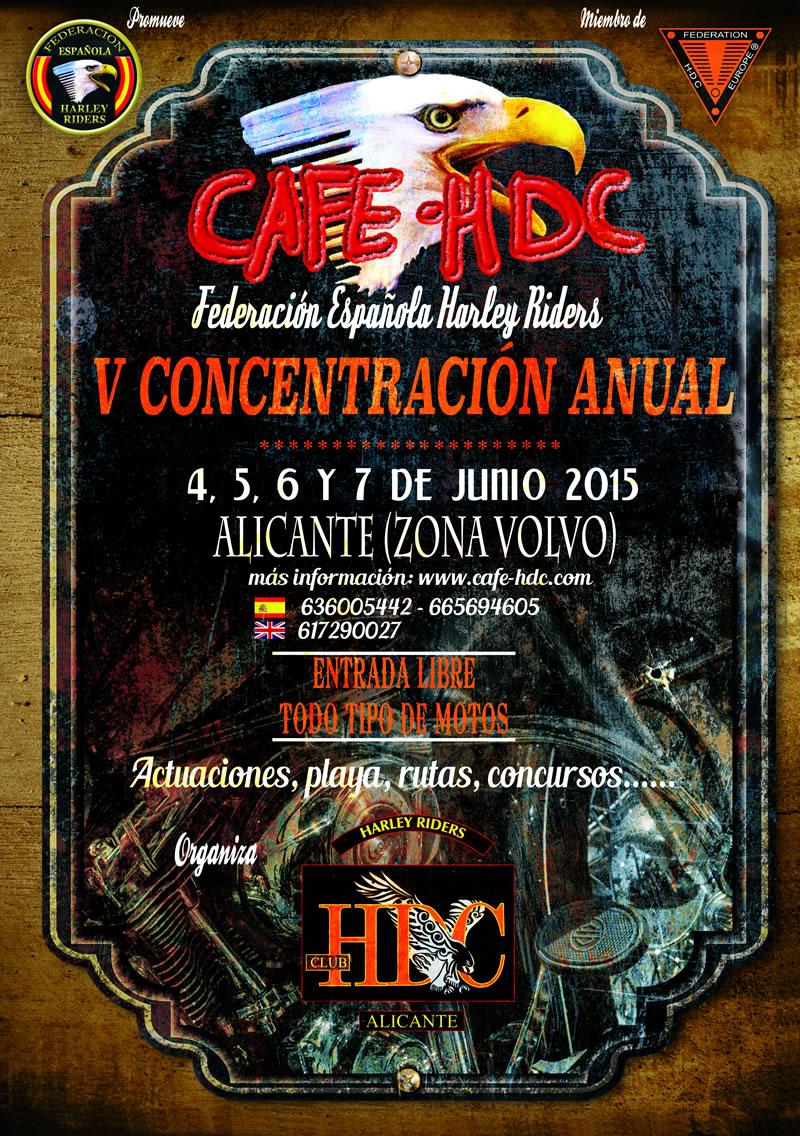 V CAFE HDC Alicante 2015